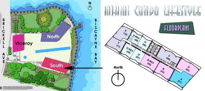 ICON Brickell Two Key Plan