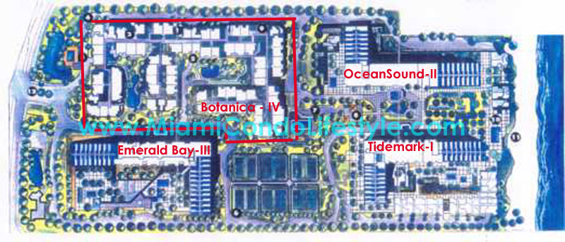 Key Colony Condos Site Plan