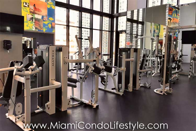 1010 Brickell Fitness Center