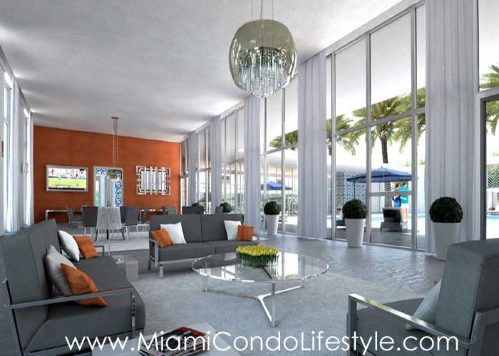 151 at Biscayne Lobby