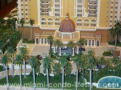 Acqualina Aerial View