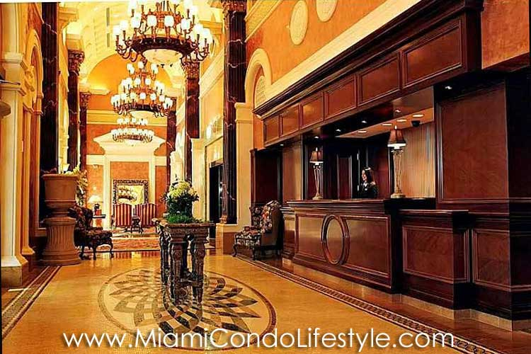 Acqualina Lobby