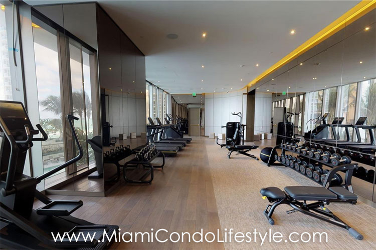Armani Residences Fitness Center