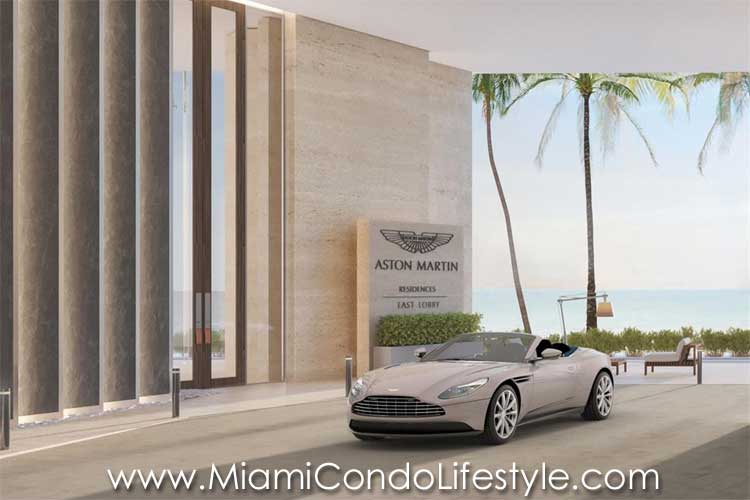 Aston Martin Residences Entry