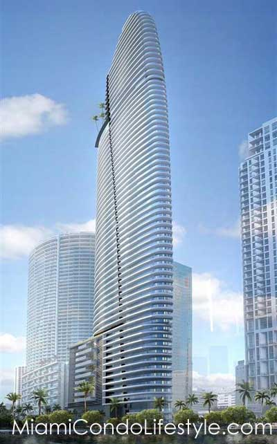 Aston Martin Residences, 300 Biscayne Blvd Way, Miami, Florida, 33131