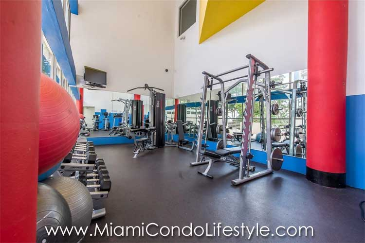 Atlantis on Brickell Gimnasio