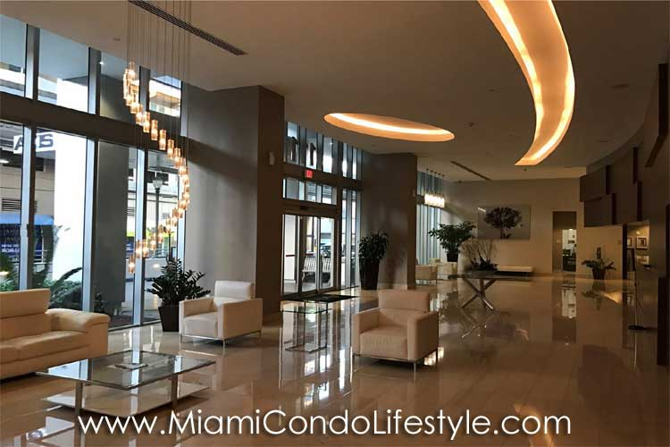 Axis on Brickell Lobby