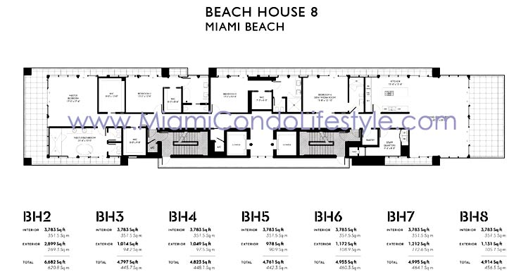 Beach House 8 Floorplan