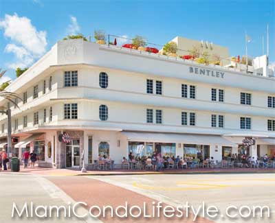Bentley Condo Hotel, 510 Ocean Drive, Miami Beach, Florida, 33139