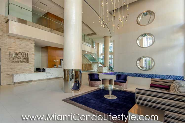 Brickell on the River South Lobby