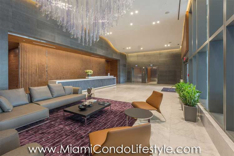 RISE Brickell City Center Lobby