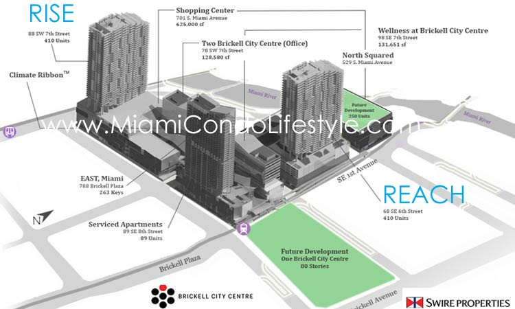 Brickell City Centre Siteplan