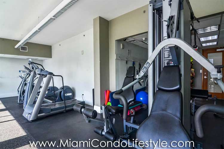 Brickell Harbour Gimnasio