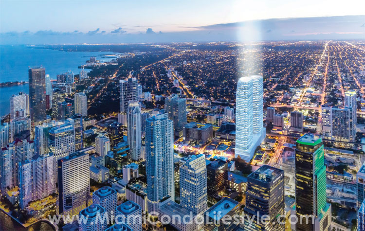 Brickell Heights Aerial