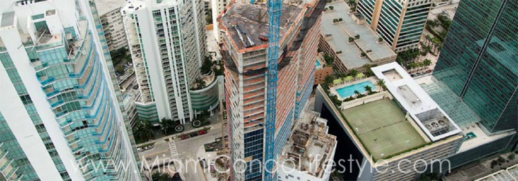 Brickell House Aerial