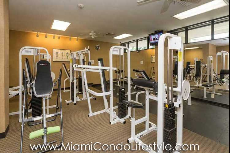 Brickell Key One Gimnasio