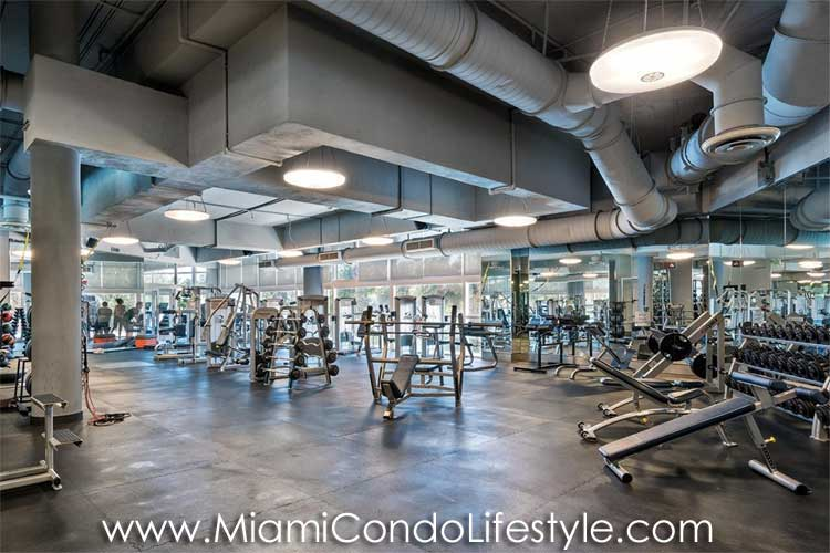 Continuum II North Tower Fitness Center