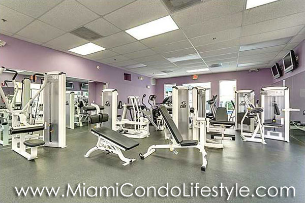 Courts at South Beach Fitness Center