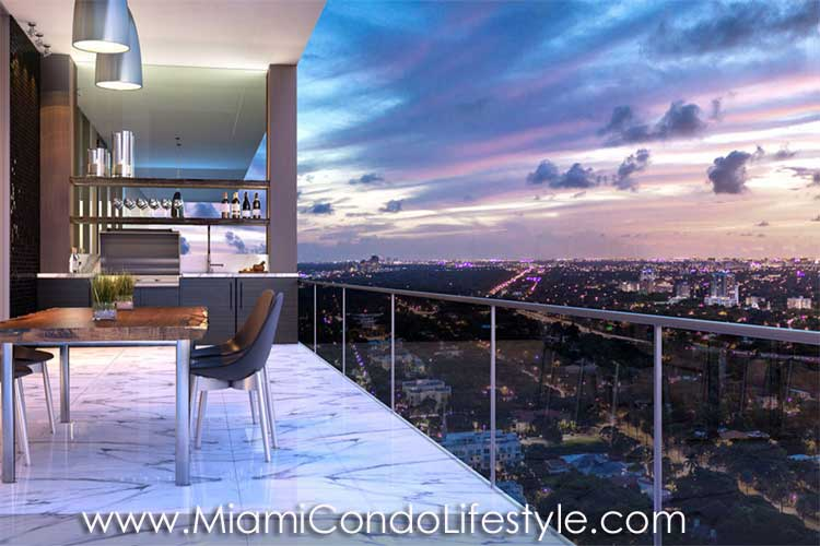Echo Brickell Balcony