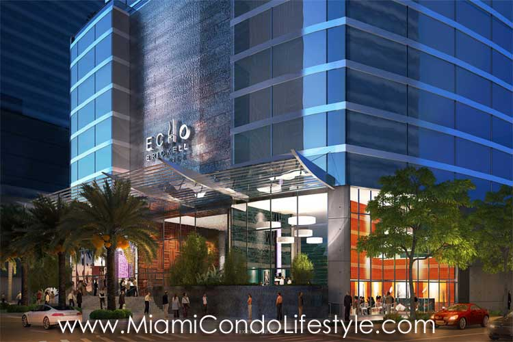 Echo Brickell Street View