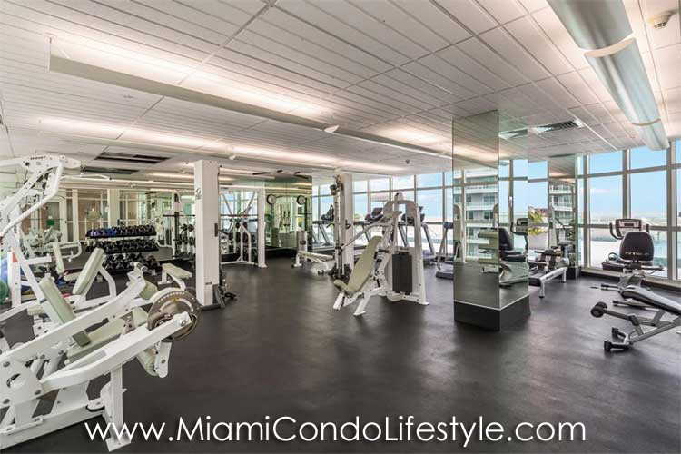 Emerald at Brickell Gimnasio