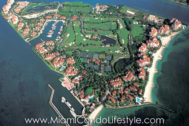 Fisher Island Building Map