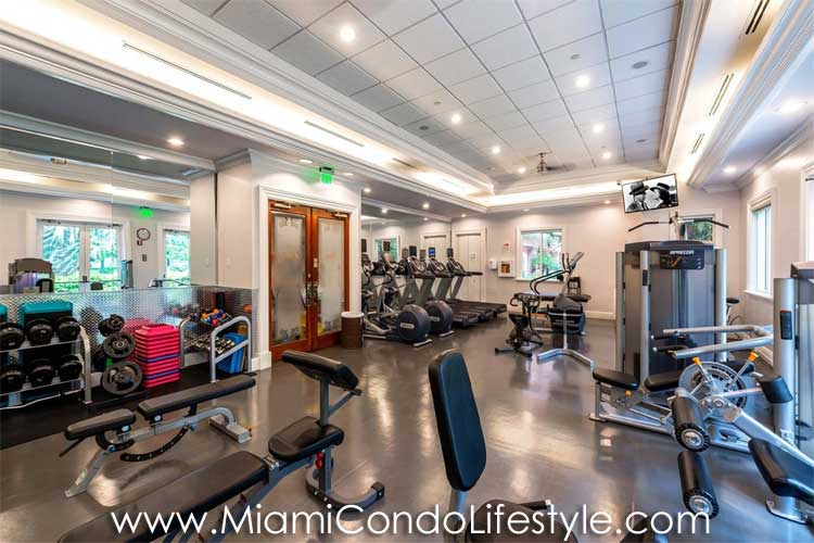 Gables Club Tower II Fitness Center