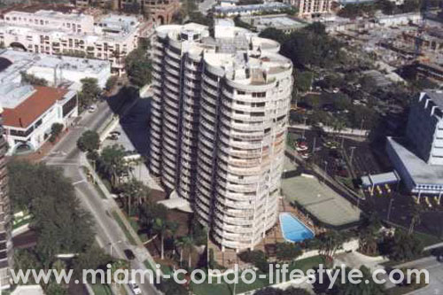 Grove Towers Aerial View