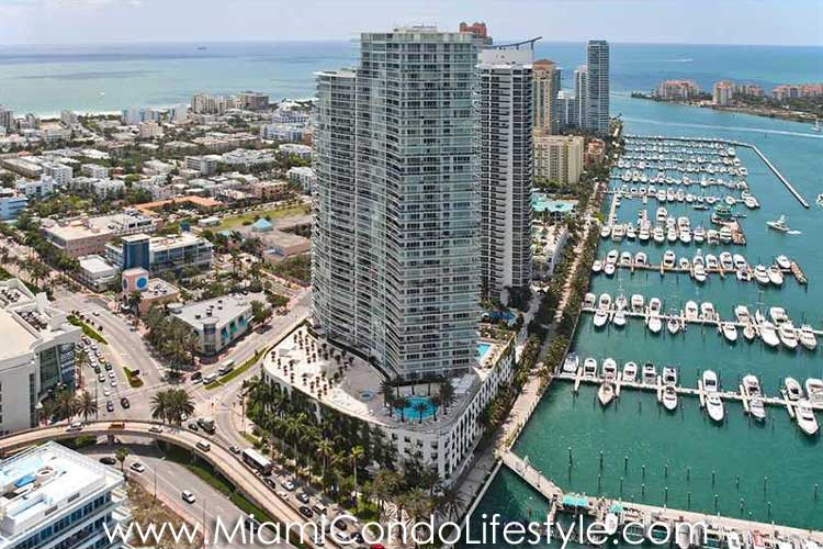 Icon South Beach Aerial