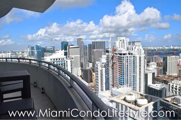 Infinity at Brickell Northeast View