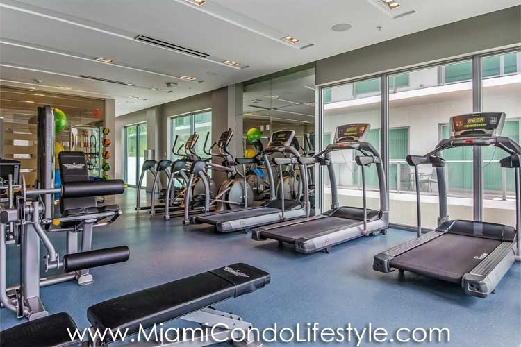 Le Parc at Brickell Fitness Center