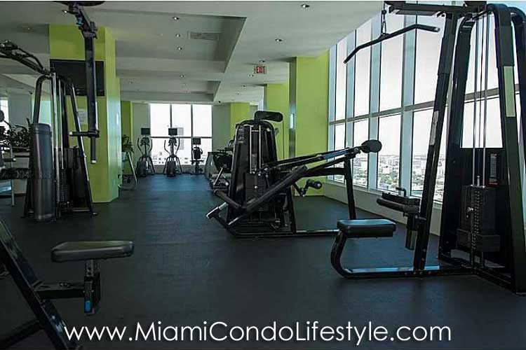 Loft Downtown II Fitness Center