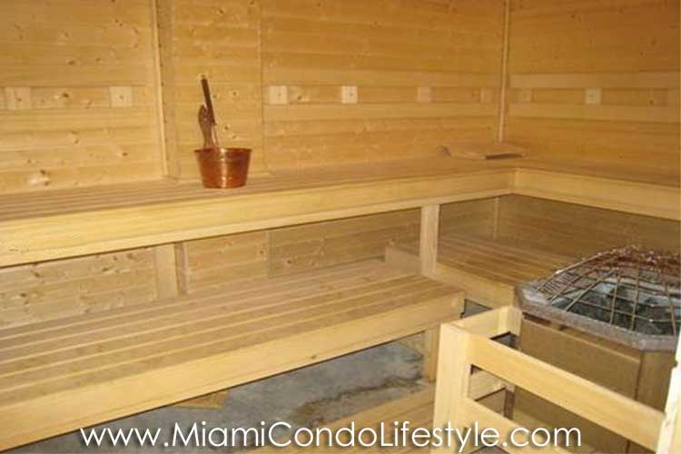 Lofts at Mayfair Sauna
