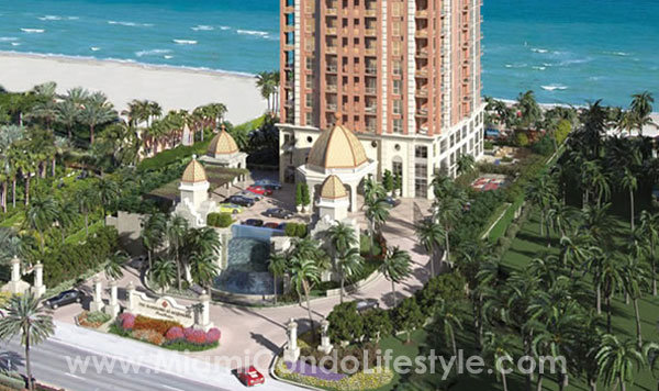 Mansions at Acqualina Aerial