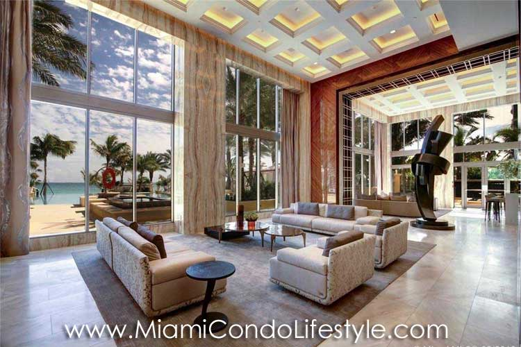 Mansions at Acqualina Lobby