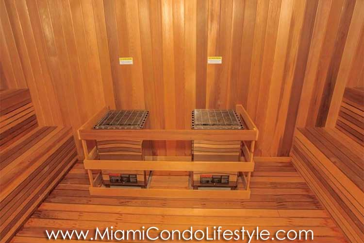 Marea South Beach Sauna