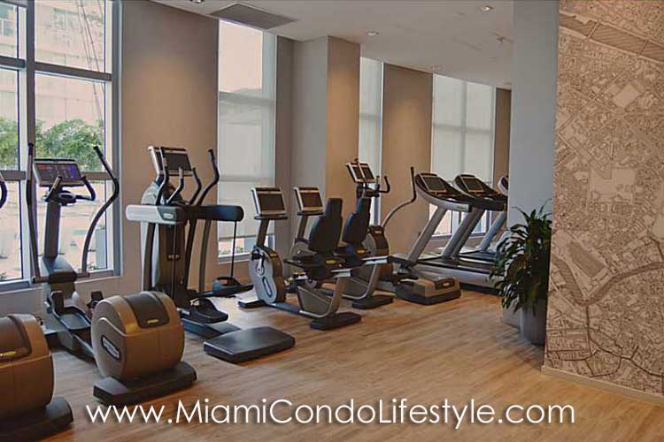 Millecento Residences Fitness Center