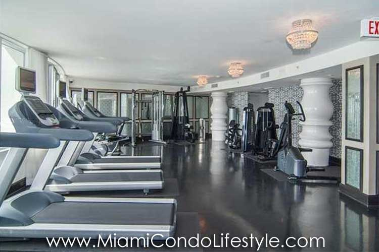 Mondrian South Beach Fitness Center
