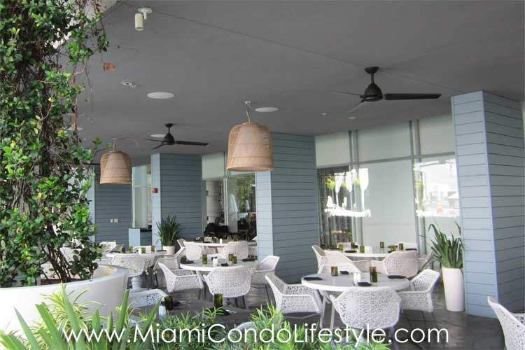 Mondrian South Beach restaurant
