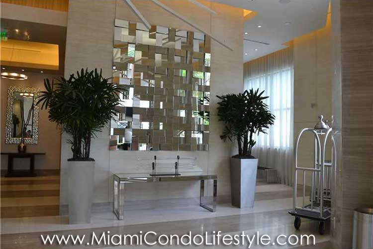 NINE Mary Brickell Village Lobby