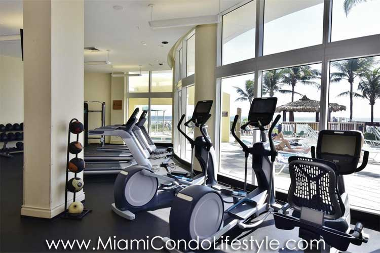 Ocean Point Beach Club Gimnasio