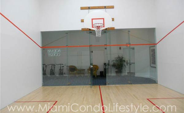 Oceania IV Racquetball Court