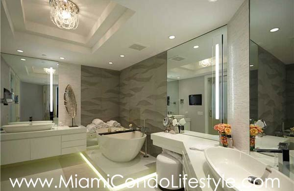 One Bal Harbour Bathroom