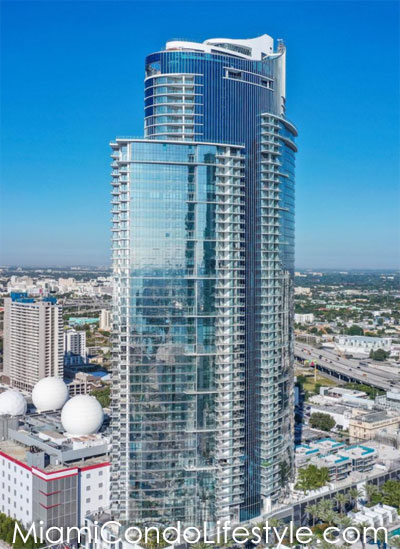 Paramount Miami Worldcenter, 851 NE 1st Avenue, Miami, Florida, 33132