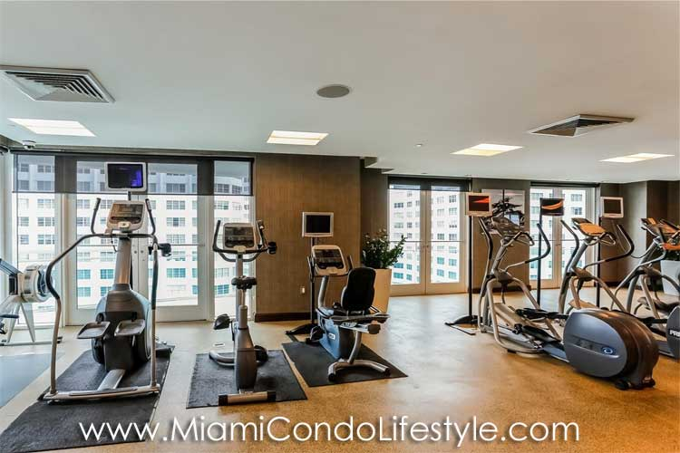 Plaza on Brickell Fitness Center