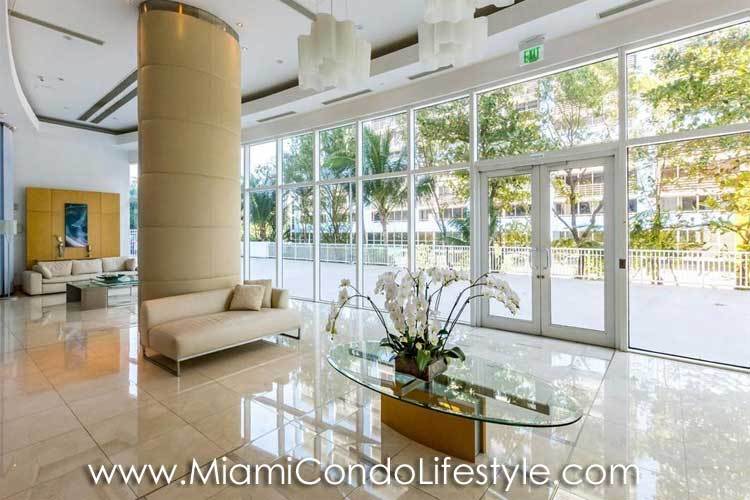 Skyline on Brickell Lobby
