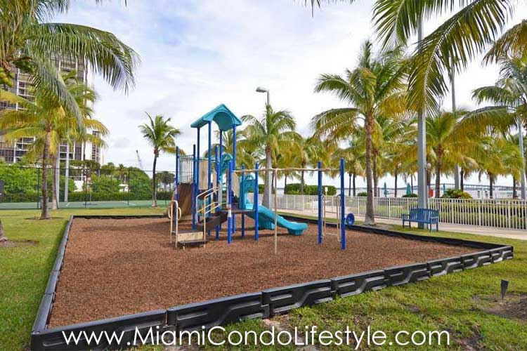 Skyline on Brickell Playground