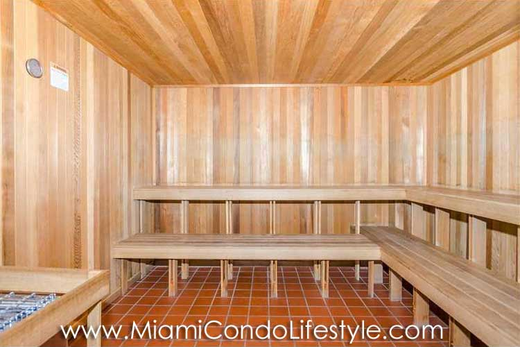Skyline on Brickell Sauna