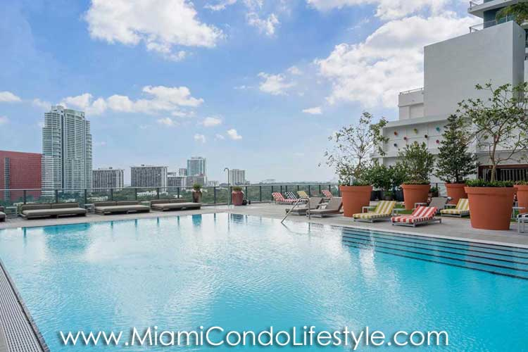 SLS Brickell Pool