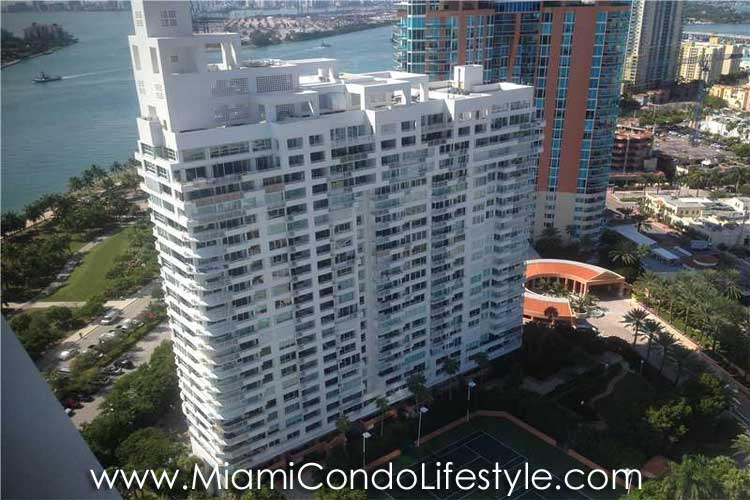 South Pointe Tower Aerial